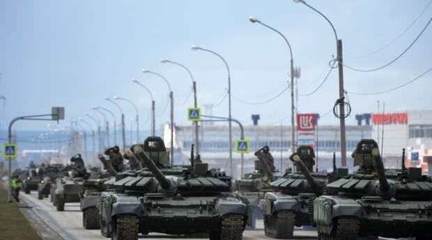 Россию призывают отвести войска от границы с Украиной