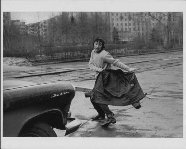 Леонид Енгибаров в образе тореадора Виктор Ахломов, 4 апреля 1969 года, г. Москва, МАММ/МДФ.