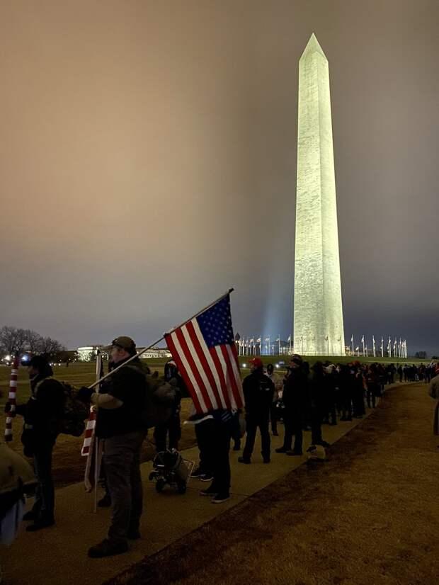 Протесты против фальсификации выборов в США 06.01.2021