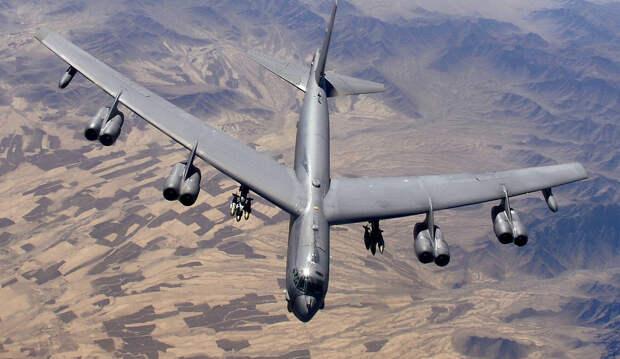 СШАперебросили вЕвропу тристратегических бомбардировщика
