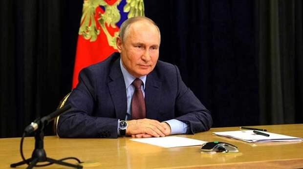 Путин обратился к россиянам в День России