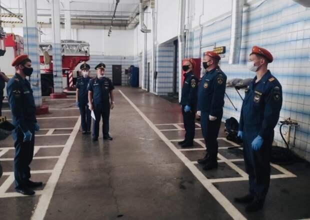 Конкурс среди пожарно-спасательных частей продолжается в Москве