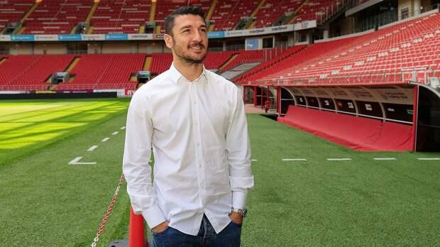 Боккетти побывал на стадионе «Спартака» и дал интервью на русском языке