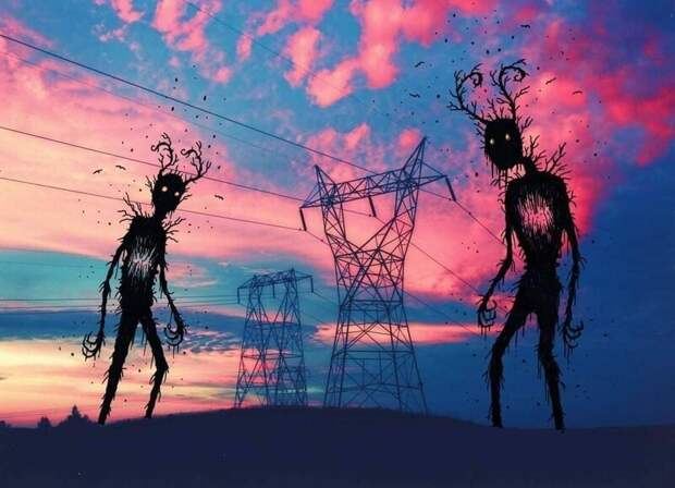 Тревожные сказки художника Марка Ганье, который смог соединить ужасное имилое