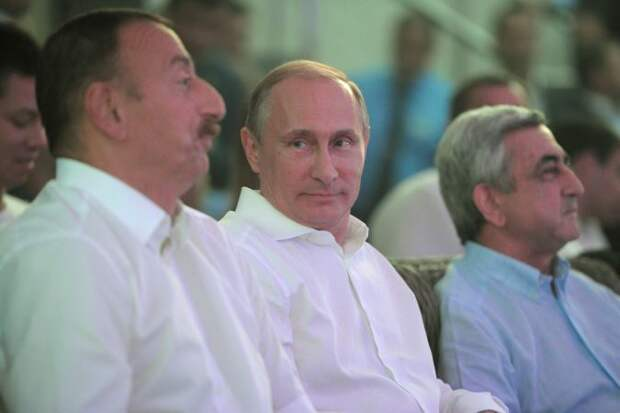 Лидеры России, Армении и Азербайджана констатировали, что карабахский конфликт может быть урегулирован только мирным путем