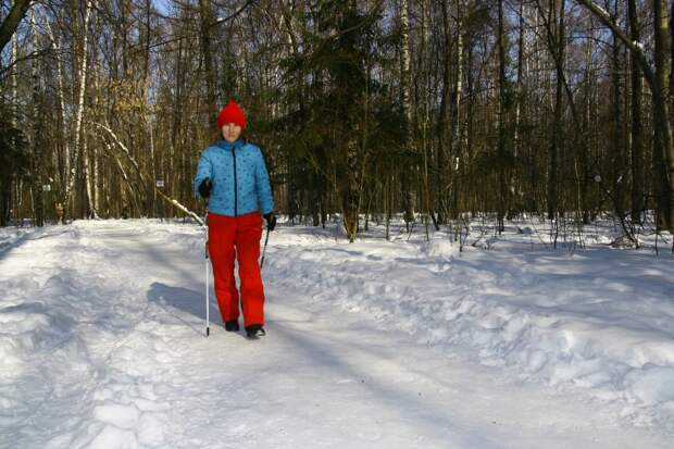 В «Берендее» стартовал набор в группу скандинавской ходьбы