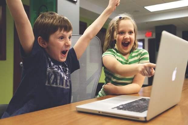 Дети, Победа, Успех, Видео Игры, Играть, Счастливы