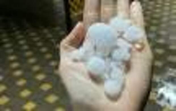 Град нанёс ущерб двум сельхозпредприятиям Крыма