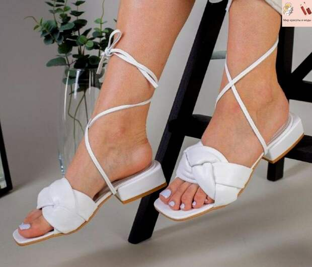 Нежные и стильные плетеные туфли, как актульный и комфортный тренд сезона весны 2021!