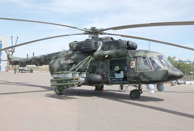В России испытают новый штурмовой вертолет с оборонным комплексом «Президент-С»