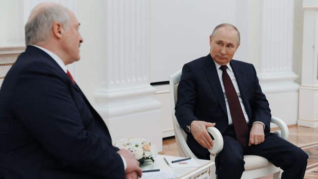В Кремле не исключили новую встречу Путина с Лукашенко