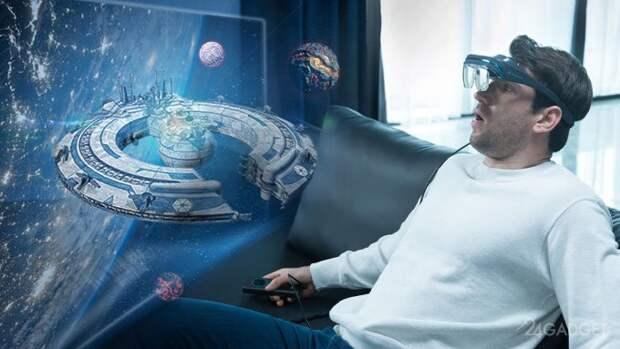 Анонсированы портативные персональные очки дополненной реальности DreamGlass 4K