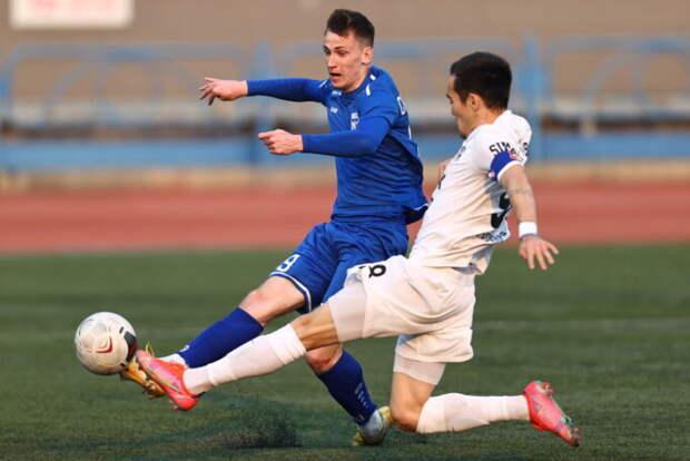Футбольный «Новосибирск» потерпел третье поражение подряд