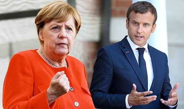 СРОЧНО: Макрон, Меркель иЗеленский выступили спризывом кРоссии