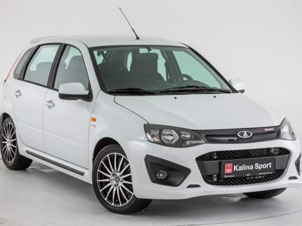 АВТОВАЗ начинает продажи Lada Kalina Sport