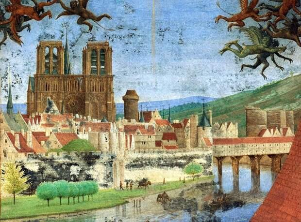 Нотр-Дам в 1452 году  история, люди, фото