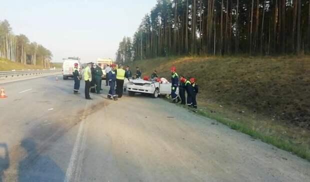 Ехали сдачи: четыре человека погибли вДТП под Екатеринбургом