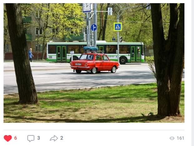 Фото дня: на улицах Бабушкинского заметили винтажный автомобиль
