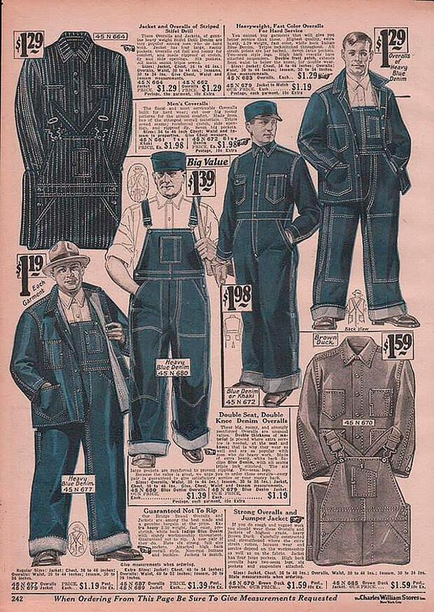 Джинсовая куртка - мода из народа