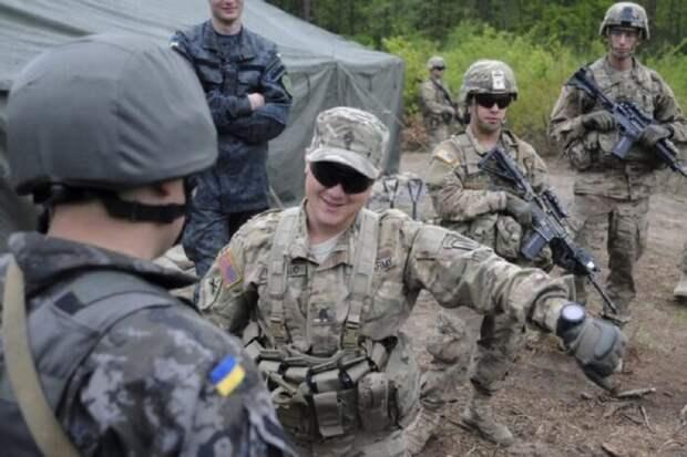 НАТО перебросило наДонбасс свои военные части
