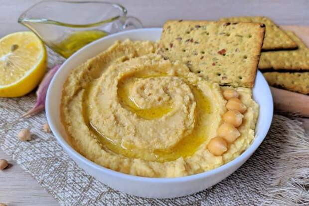Хумус из нута. Оригинальная, полезная и вкусная закуска