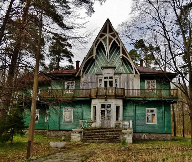 Погостить на «Даче Кинга». Памятник эпохи модерна в Зеленогорске превратится в спа-отель