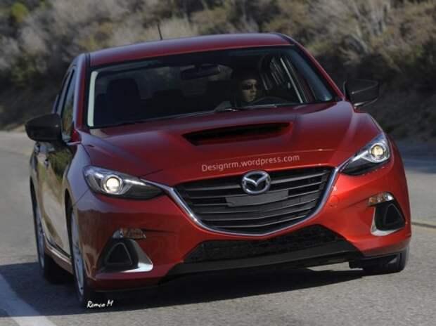 Компактный кроссовер Mazda CX-3 начнут продавать в июне 2015-го