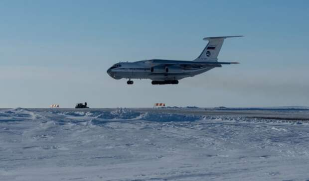 Новые месторождения вАрктике будут обслуживать плавучие аэродромы