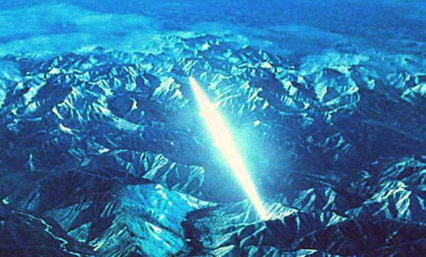 Сверхускорение аппарата ВЦ над горами