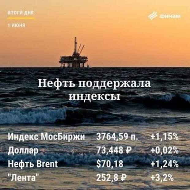 Итоги торгов вторника, 1 июня: Индекс МосБиржи может взять новые вершины
