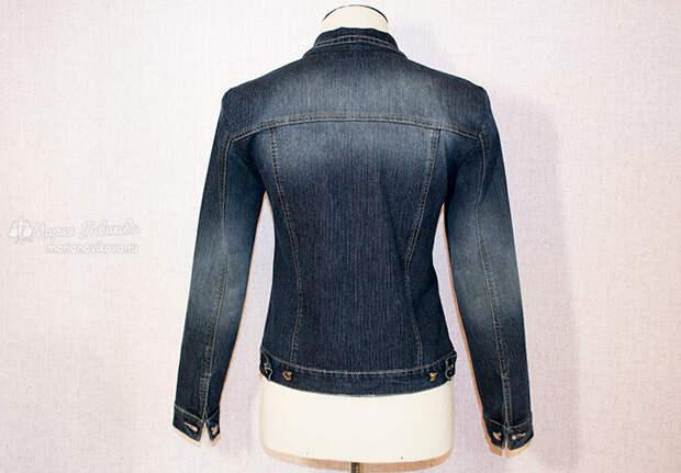 Кастомайзинг старой джинсовки