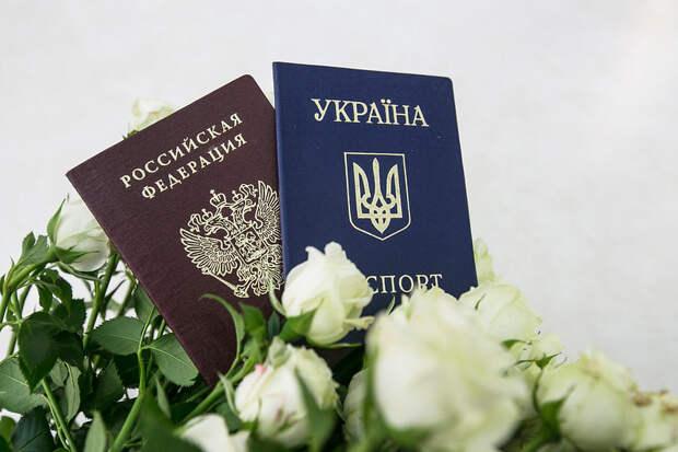 Украина хочет отобрать свое гражданство у получивших паспорт РФ людей