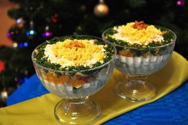 Салаты с яичными блинчиками: лучшие и оригинальные рецепты для будних и праздничных дней!