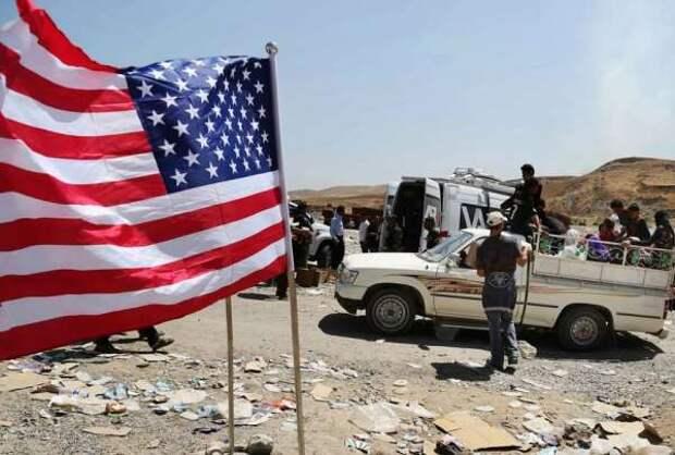 Американцы перебросили новую партию боевиков на незаконную базу в Сирию