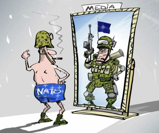 Министр обороны Германии призвала НАТО начать угрожать России