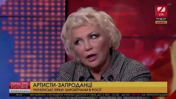 Украинская актриса в эфире ТВ поставила на место злорадствующий над крымчанами Киев