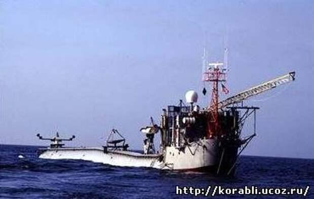 Самое старое уникальное судно в мире - научно-исследовательская платформа «FLIP»