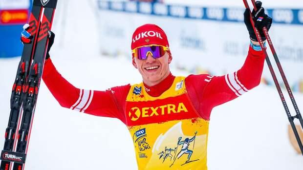 Главный лыжник России выиграл гонку после скандала и угрозы сесть в тюрьму
