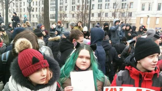 Не запрещайте детям идти на митинг Навального
