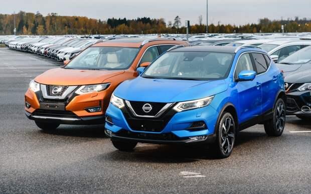 Nissan начал продажи Qashqai и X-Trail 2021 года