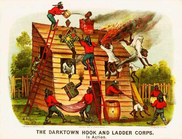 Дарктаунские пожарные в действии