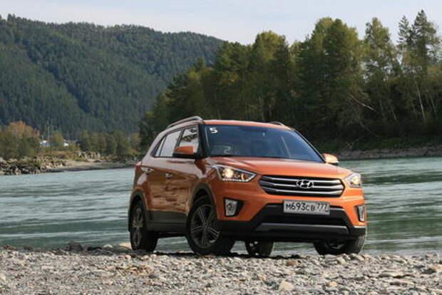 Hyundai Creta: сильный ход