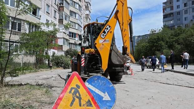 Глава Крыма продолжил рейд по дворам Симферополя