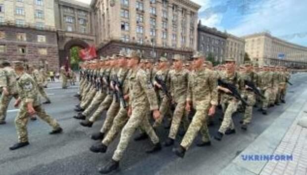 На репетиции парада военные передали