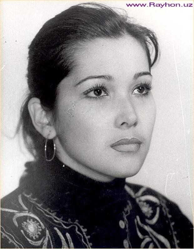 красивая узбечка Тамара Шакирова. Фото