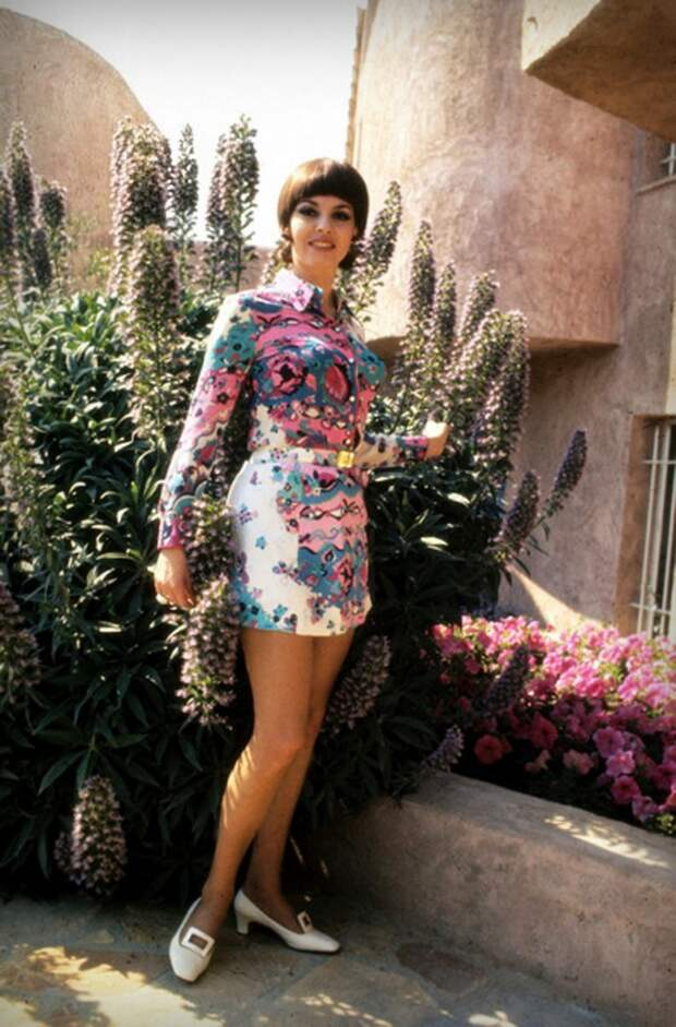 Мишель Мерсье 1970 год, Канны.