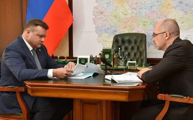 Николай Любимов обсудил с зампредом правительства ход посвеных работ в регионе