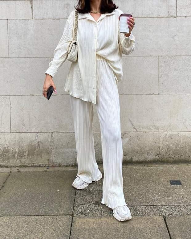 Как носить белый с головы до ног: 5 вариантов