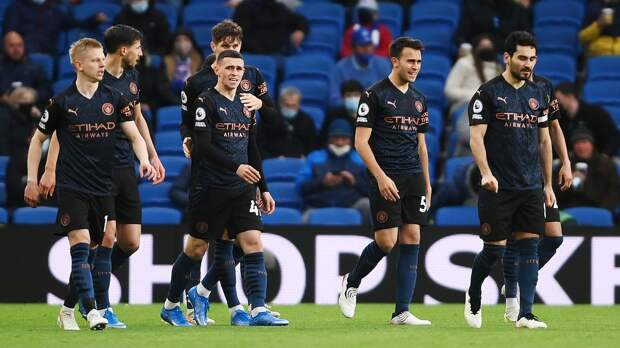 «Брайтон» победил «Манчестер Сити», отыгравшись с 0:2, и прервал рекордную серию «горожан» в выездных матчах