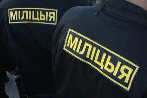 Белорусский милиционер